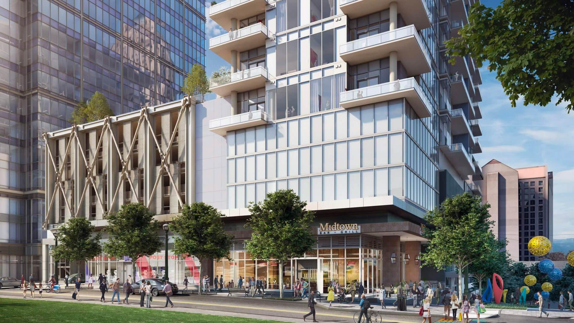Selig Enterprises Seeking Approval For Massive West Peachtree Project