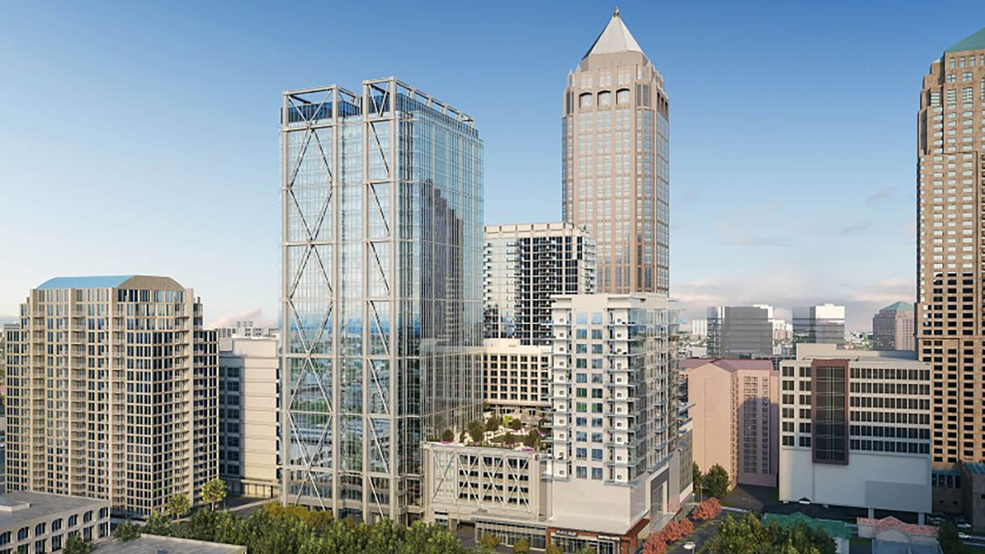 Developers announce hotel flag for Midtown's block-swallowing 1105 West Peachtree