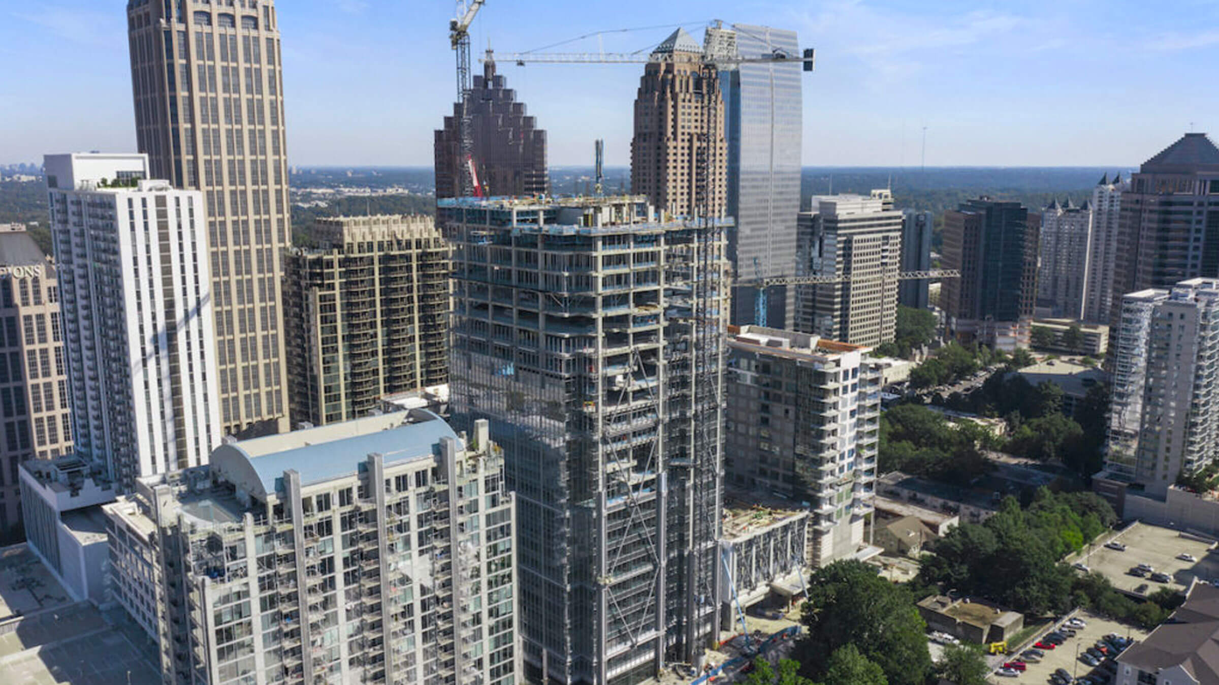 40 West 12th Tops Out, Opens Presentation Gallery