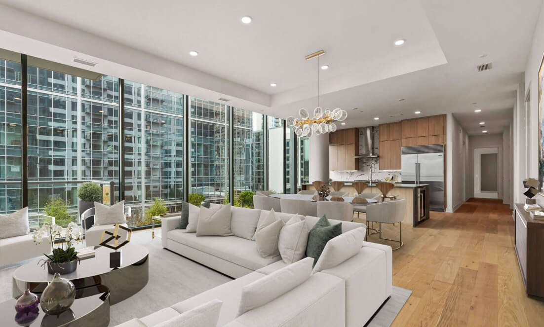 What $2.2M buys in a sparkly new Midtown condo right now