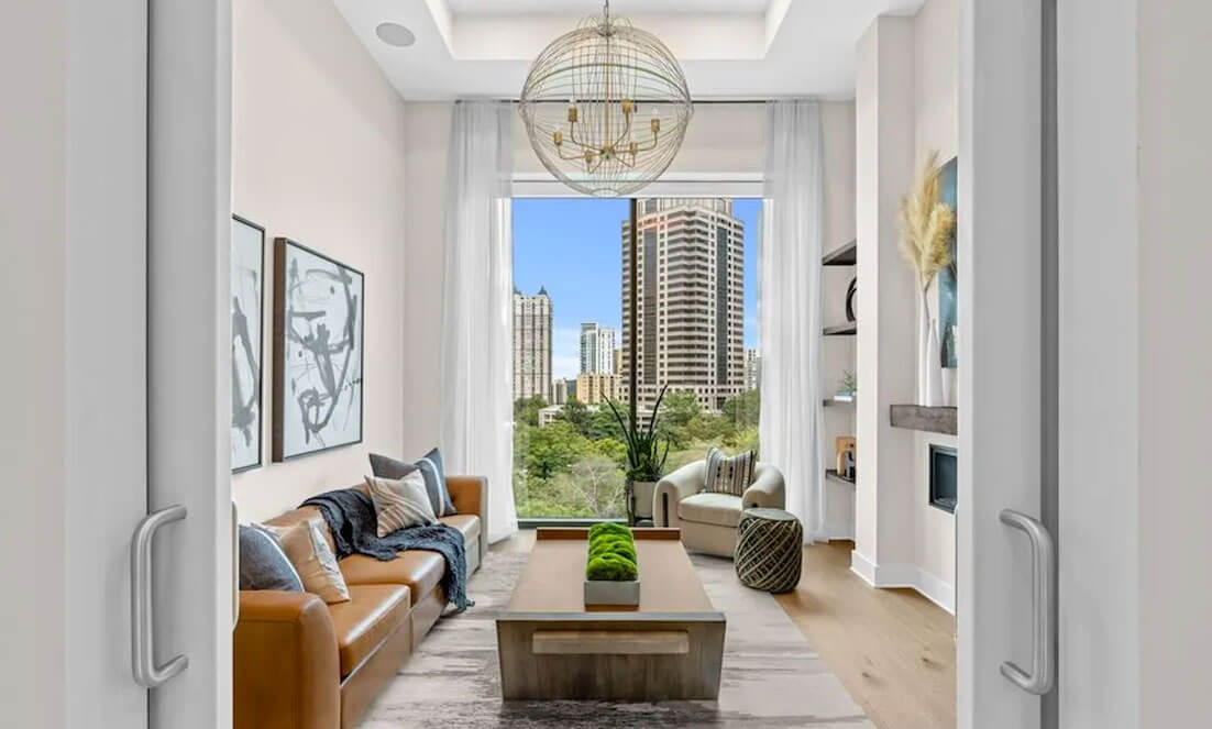 Inside Atlanta's First New York-Style Luxury Residence at 40 West 12th