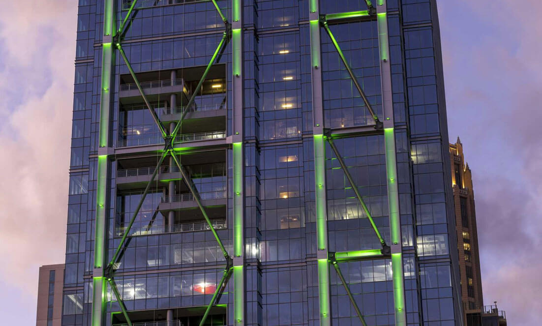 Images: Google's new Midtown Atlanta HQ aims to dazzle with light