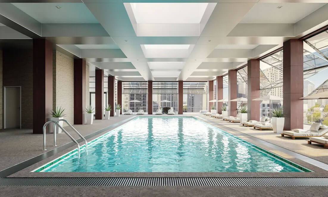 Making a Splash: Four Indoor Pools for All Four Seasons